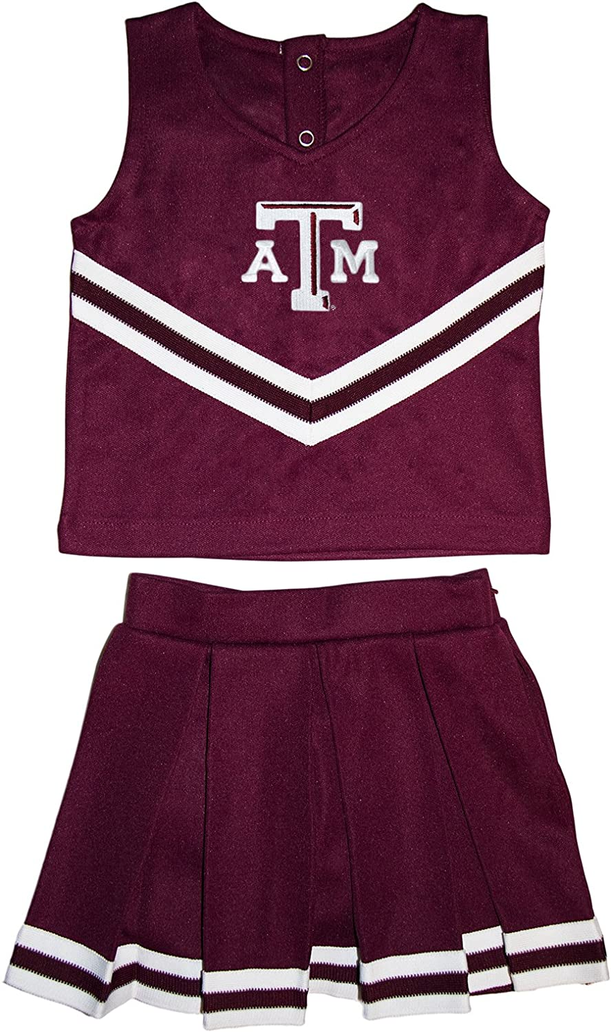 Creative Knitwear Texas A/&M University Aggies Toddler and Youth 3-Piece Cheerleader Dress