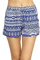 ToBeInStyle Women's Aztec Print Shorts