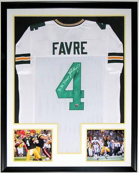 Brett Favre Signed Packers Jersey 95 96 97 Mvp Inscription