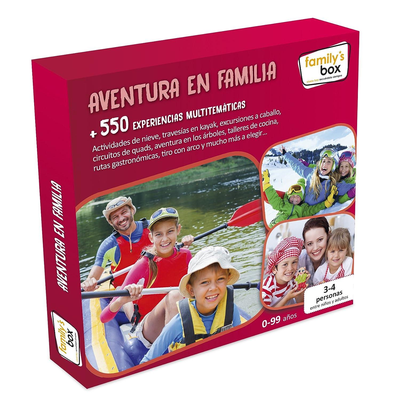 Cofre DE EXPERIENCIAS Aventura EN Familia - Má s de 600 experiencias multitemá ticas en Toda Españ a Kiddy' s World