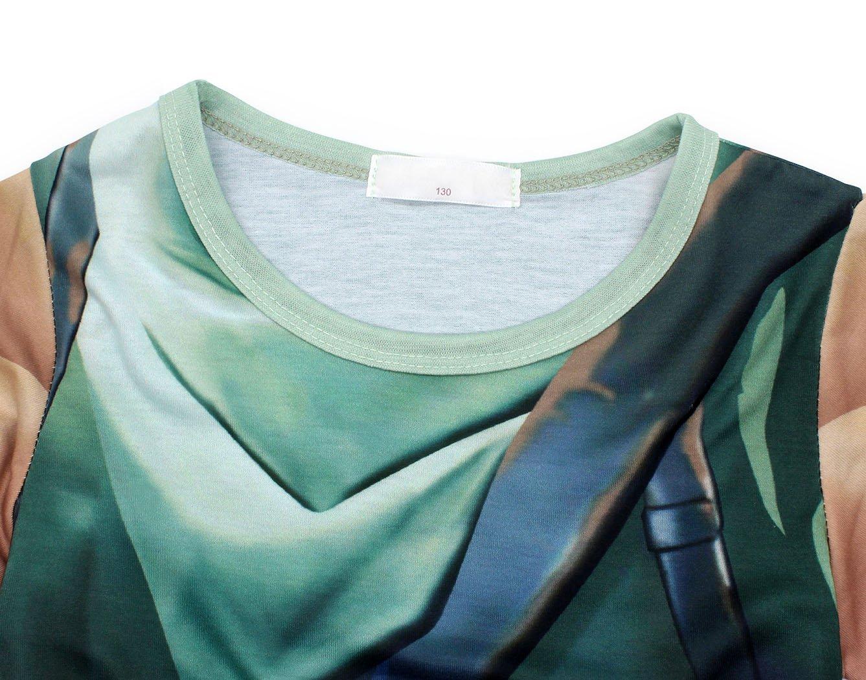 AmzBarley Battle Costume Royale Games Gamer Shirt and Shorts Outfits Size 8 by AmzBarley (Image #4)