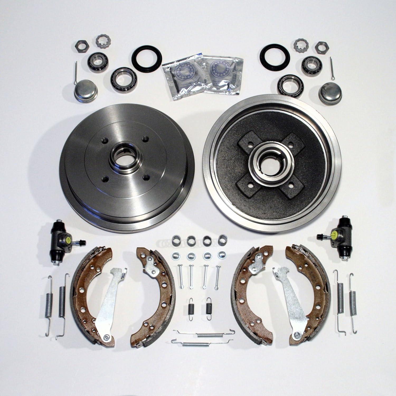 Bremstrommel Bremsen Kit hinten Autoparts-Online