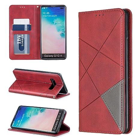 i-Case Funda Compatible Samsung Galaxy S10+ Protectora ...