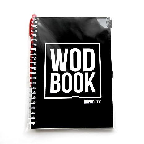 amazon com wodbook crossfit workout journal wod logbook