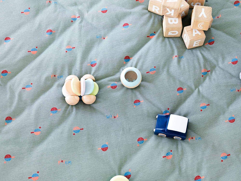 Sac de rangement de jouets et tapis de jeux b/éb/é Soft Ping Pong Play /& Go