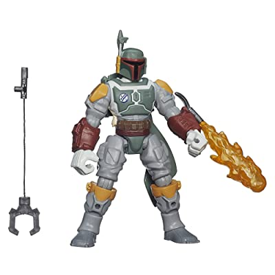 Star Wars Hero Mashers Episode VI Boba Fett: Toys & Games