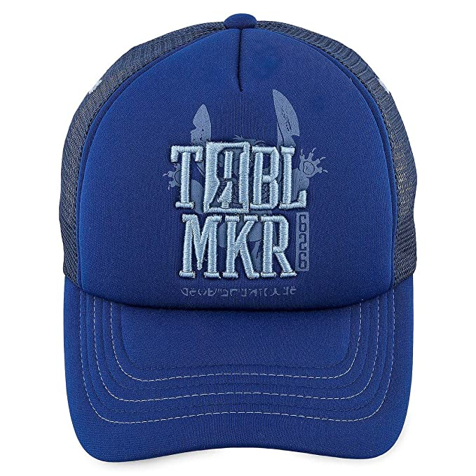 Disney Stitch   TRBL MKR   Troublemaker Baseball Cap for Adults ... 1c564495f0b
