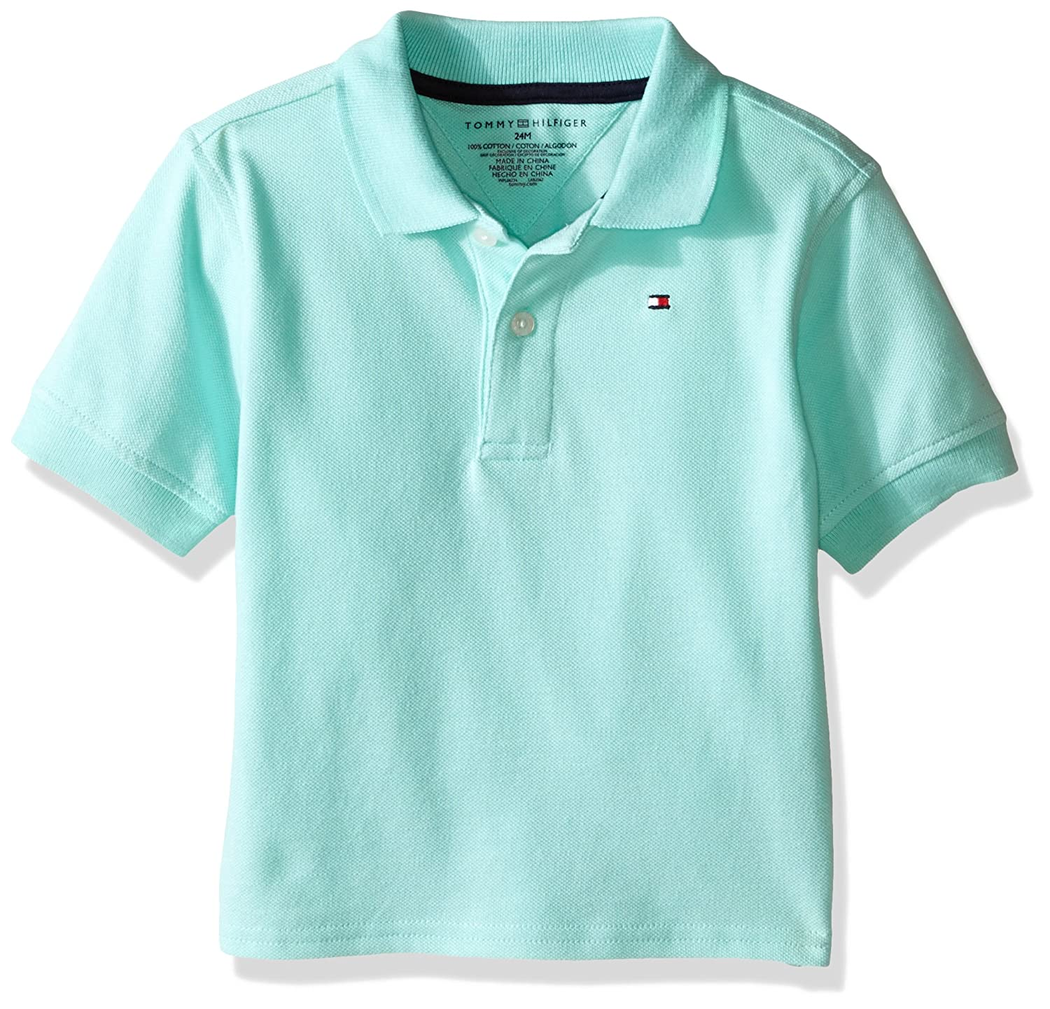 f10373931072 Amazon.com  Tommy Hilfiger Boys  Short Sleeve Ivy Polo  Clothing