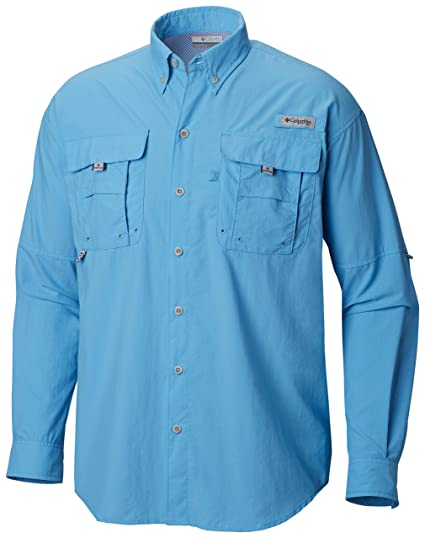 d9bbcc8e Amazon.com : Columbia Men's PFG Bahama II Long Sleeve Shirt, Breathable  with UV Protection : Clothing