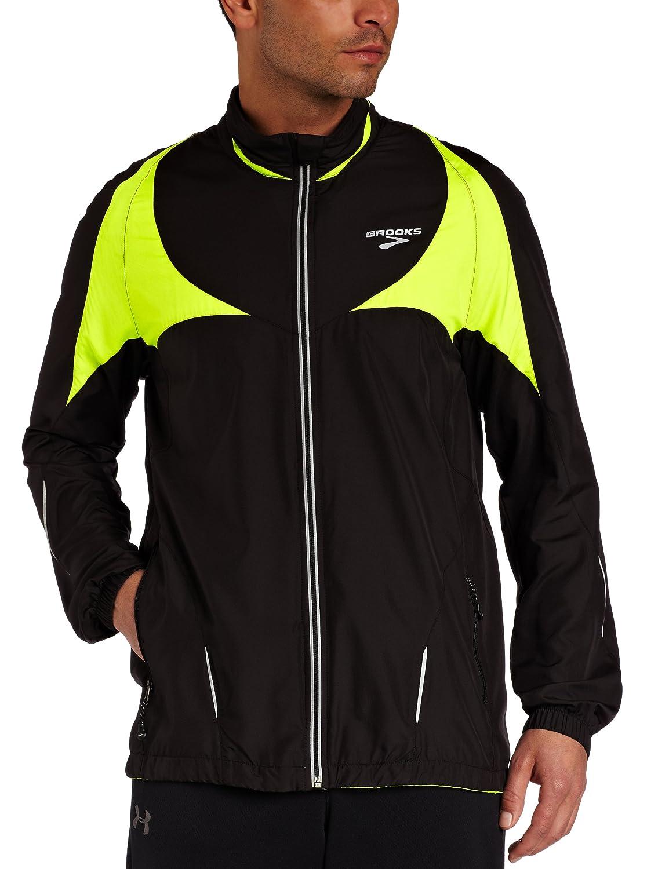 BROOKS Men's Nightlife II Jacket, Black, XXL