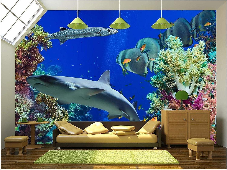 "wall26 Self-Adhesive Wallpaper Large Wall Mural Series (100""x144"", Artwork - 08)"