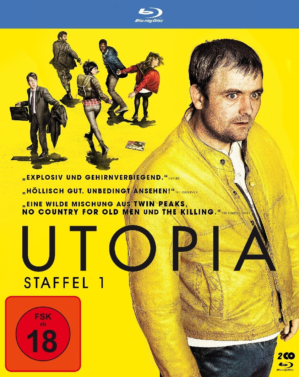 Amazon com: Utopia - Staffel 1: James Fox, Stephen Rea, Alex