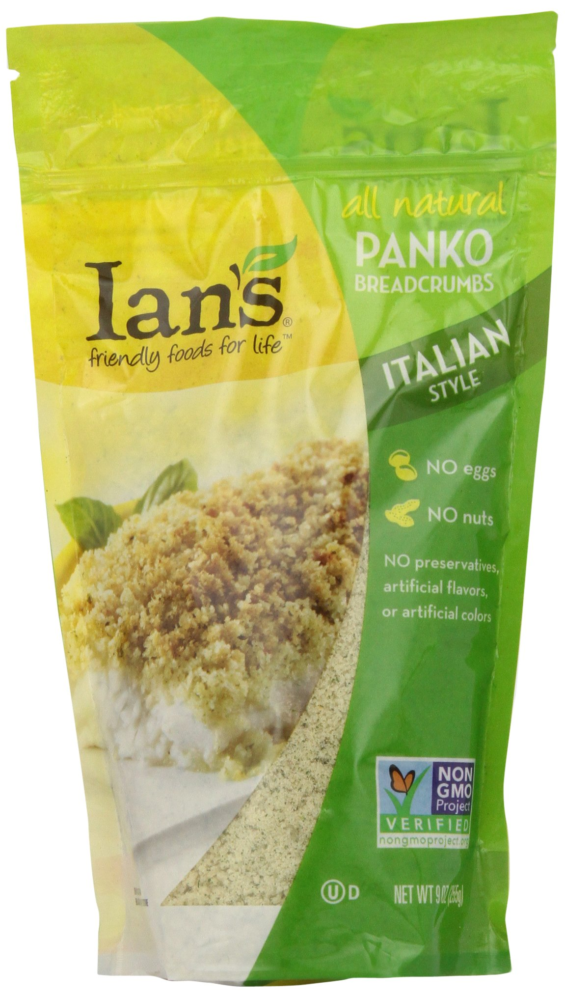 Ian's Italian Style Panko Breadcrumb, 9-Ounces (Pack of 12)