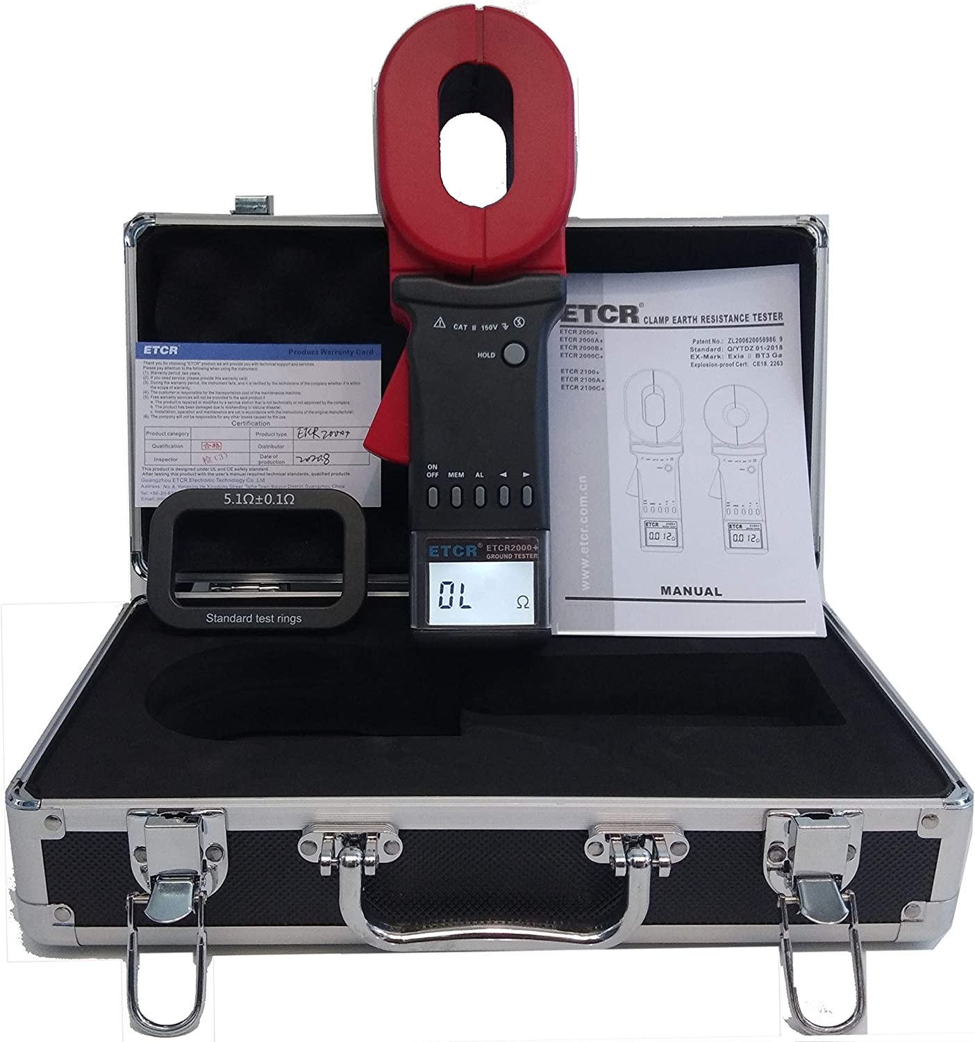 Sales of SALE items from new works Max 88% OFF Digital Clamp on Earth Ground Resis Resistance tester Meter with