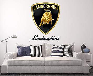 Lamborghini Wall Decal Sport Car Home Decor Art Sticker Vinyl