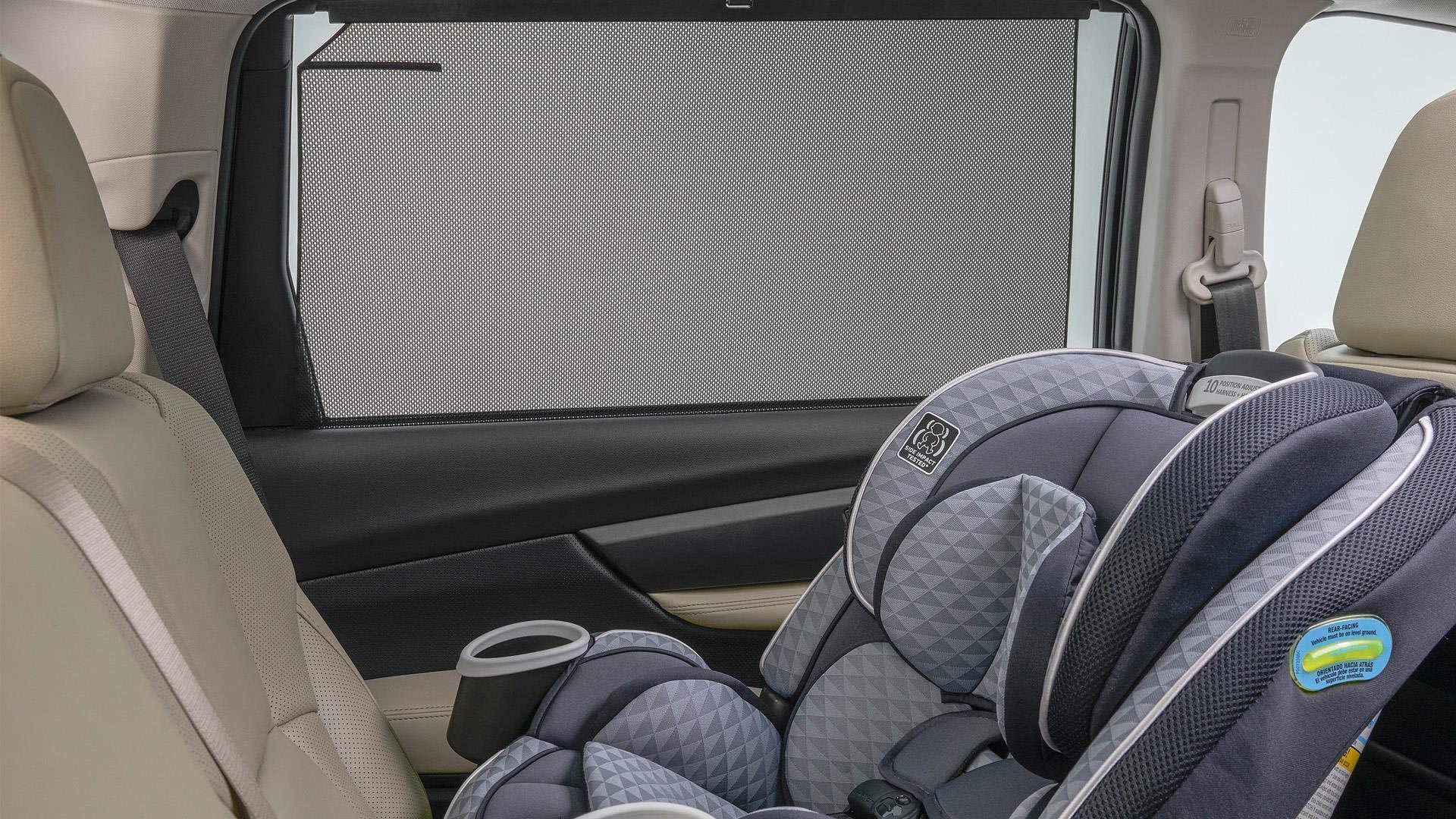 SUBARU 2019 Ascent 2nd Row Window Sunshade Set of Two New F501SXC000 Genuine by SUBARU (Image #2)