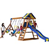 Amazon.com: Backyard Discovery Skyfort II All Cedar Wood ...