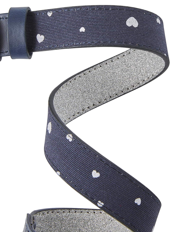 VERTBAUDET Cintur/ón reversible para ni/ña AZUL OSCURO ESTAMPADO 2//5A