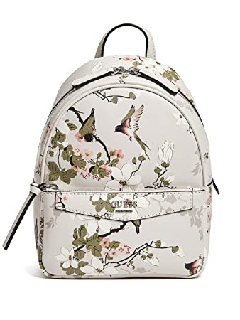 75f87bc9c3 Amazon.com  GUESS Factory Women s Leonore Floral Small Backpack  Fashion-USA