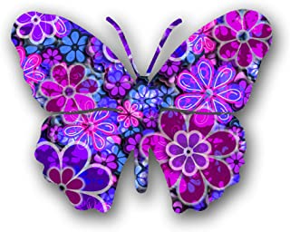 product image for Next Innovations 101410077-BLOSSOM Butterfly Metal Wall Art, Blossom