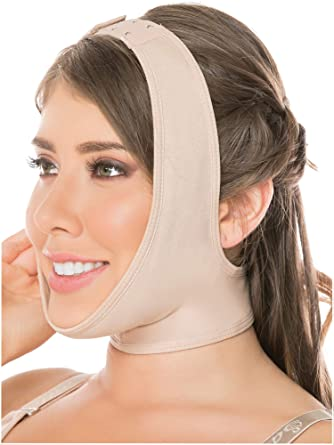 99a9063bdfc83 Fajas Salome 0322 Women Post Surgery Face Neck Chin Strap Mentonera  Reductora at Amazon Women s Clothing store