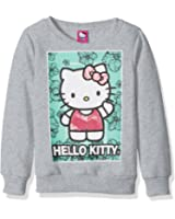 Hello Kitty Girls' Sweatshirt With Sequins and Lace Details