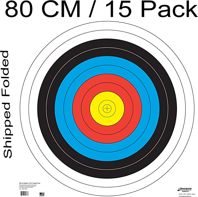 Best Archery Target :Archery 40cm & 80cm Targets by Longbow