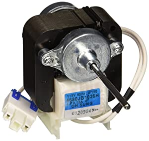 LG Electronics 4680JB1026H Refrigerator Condenser Cooling Fan Motor
