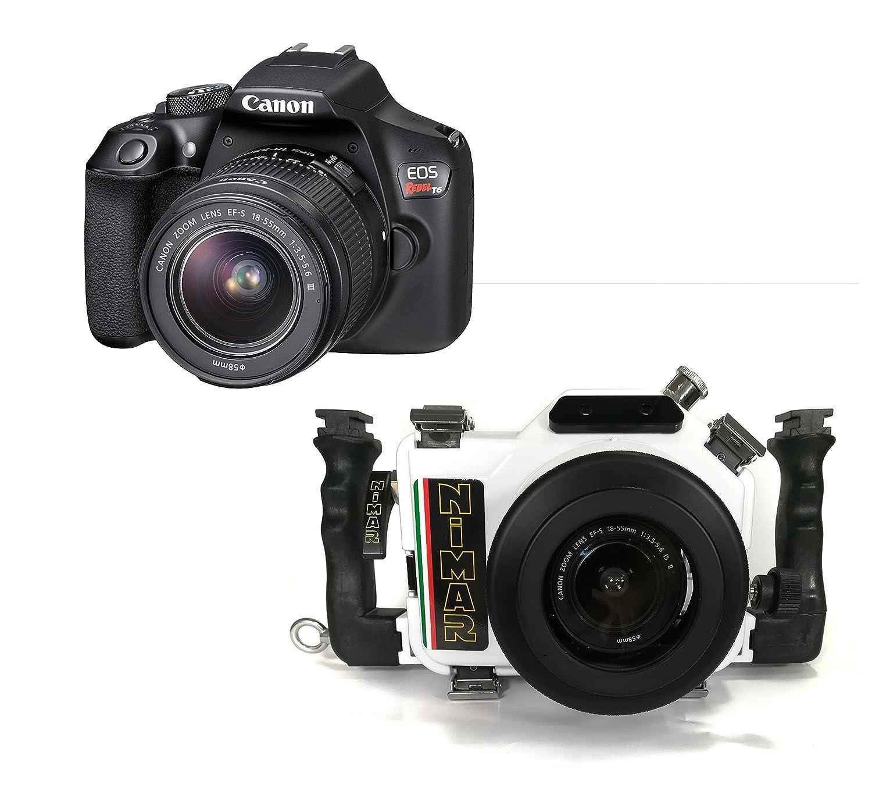 Nimar DSLR - Paquete para Canon EOS 1300D/T6 (con cámara y lente ...