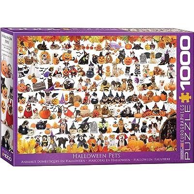 EuroGraphics 5416 Halloween Pets Puzzle (1000 Piece): Toys & Games [5Bkhe1006061]
