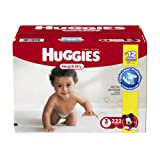 Amazon Price History for:Huggies Snug & Dry Diapers, Size 3, 222 Count (One Month Supply)