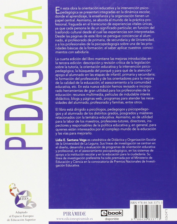 Orientación educativa e intervención psicopedagógica ...