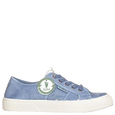 Damen Bota vegane Sneaker High Blau Gr 42 Natural World J5ADie6cf5 ... 55d713e71d