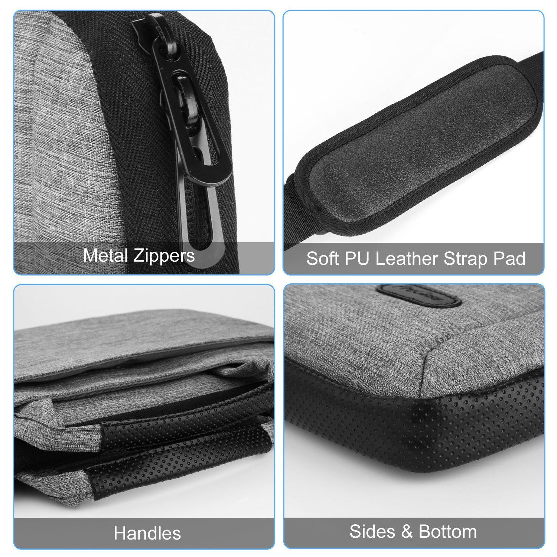 ProCase Laptop Bag Messenger Shoulder Bag Briefcase Sleeve Case for Laptop