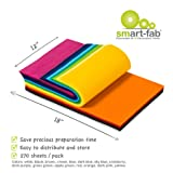 Smart-Fab Fabric Weatherproof Cut Sheet, 12 x 18