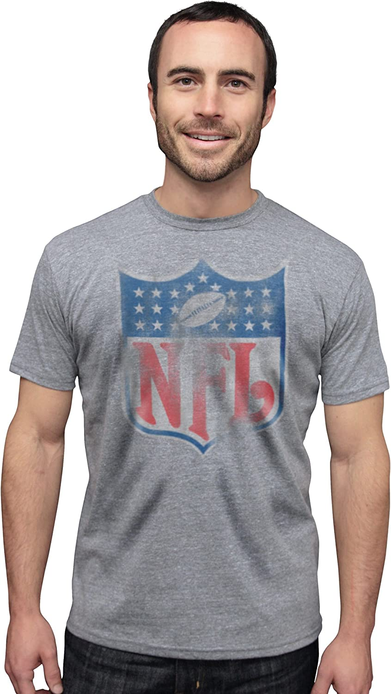 NFL Shield Vintage Triblend Short Sleeve Crew Neck Tee Men's