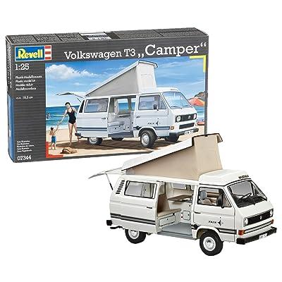 Revell 07344 1:25 Volkswagen T3 Camper: Toys & Games