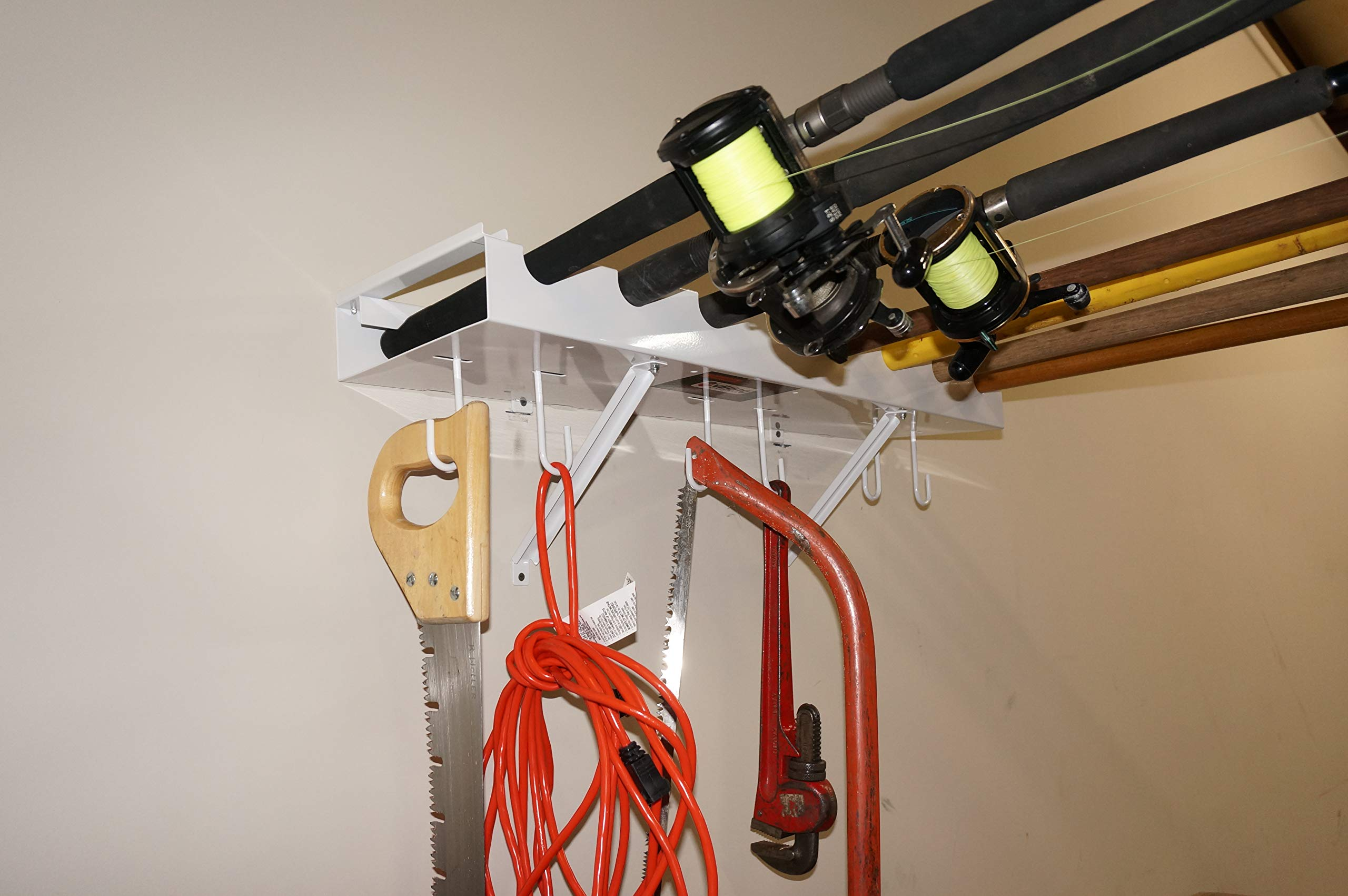 Viking Overhead Wall Mount Tool-Fishing Rod Holder by Viking Solutions (Image #2)