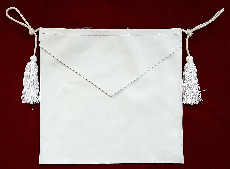 White apron freemason - Amazon Com Masonic Candidate Entered Apprentice Apron All White Everything Else