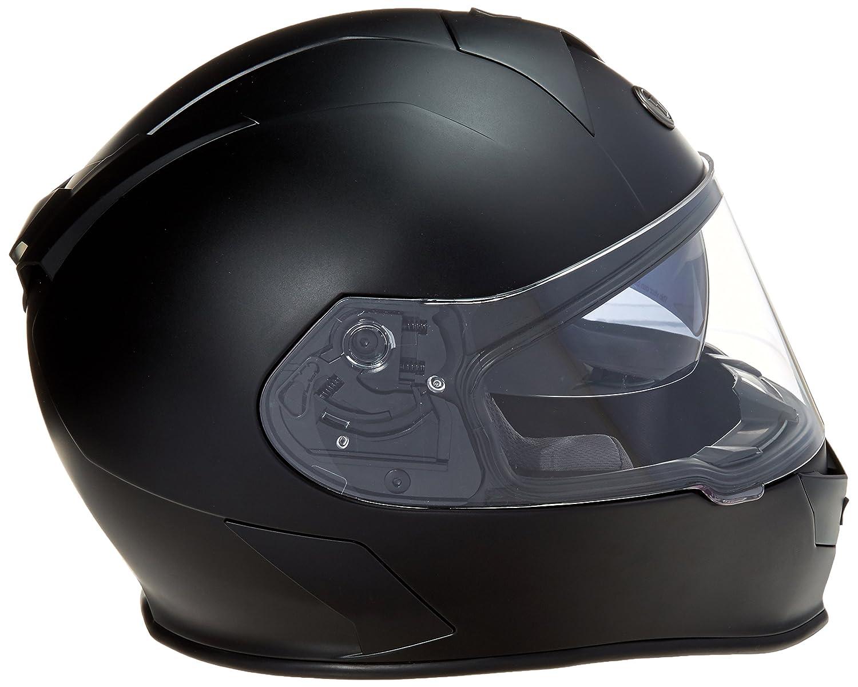 Torc T14 Blinc//Mini Full Face Helmet T14B1 FBK XL Flat Black, X-Large