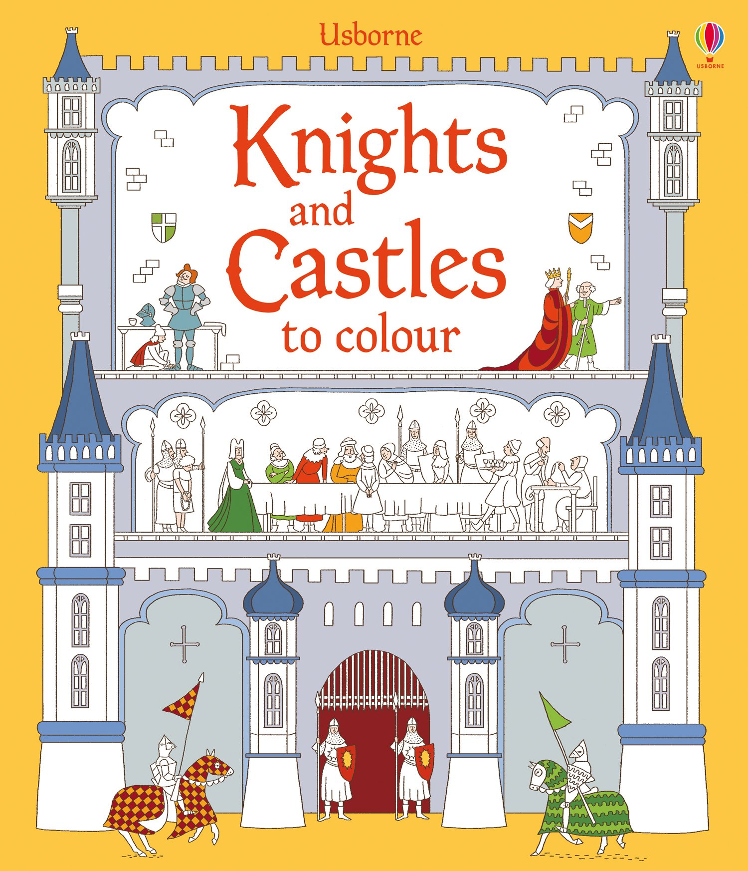 Read Online Knights and Castles to Colour pdf epub