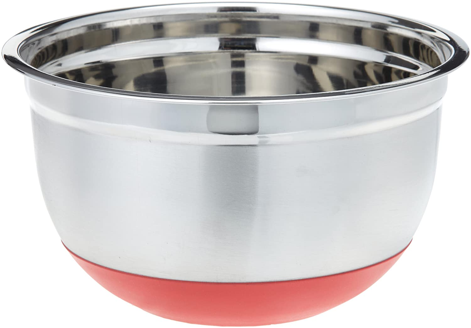 Superieur Amazon.com: ExcelSteel 298 5 Quart Stainless Steel Non Skid Base Mixing Bowl:  Kitchen U0026 Dining