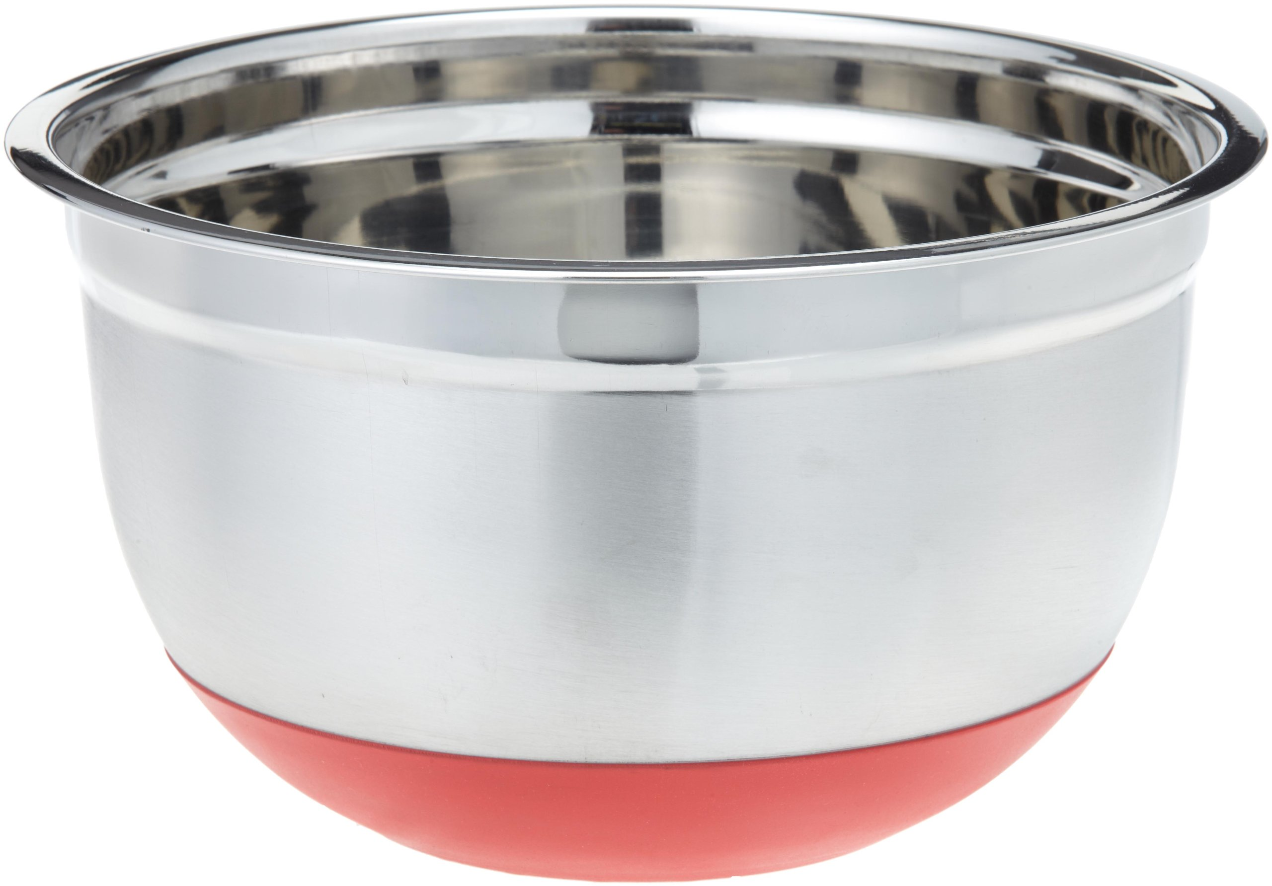 ExcelSteel 298 5-Quart Stainless Steel Non Skid Base Mixing Bowl