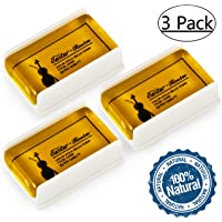 Eastar EAC-RO1 3 Pack Rosin Suits for Violin Viola Cello Rosin for Bows (3 Pack)