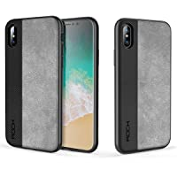 Capa Para Iphone X Rock Origin Pro, Slim, Anti-Queda (Preto)