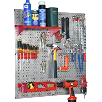 Deals on Wall Control Galvanized Steel Pegboard Tool Organizer Kit