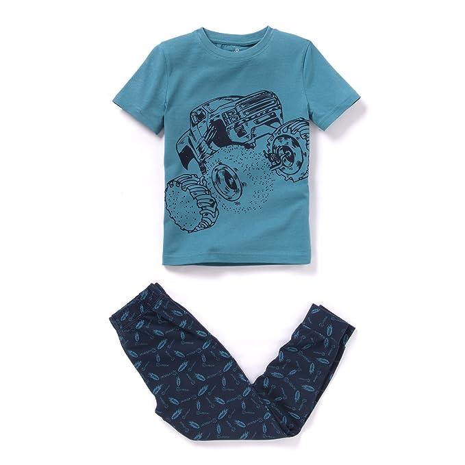 La Redoute - Pijama entero - para bebé niño azul Blu/Marine