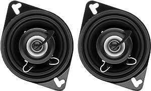 Planet Audio TRQ322 3.5 Inch Car Speakers - 140 Watts of Power Per Pair, 70 Watts Each, Full Range, 2 Way, Sold in Pairs
