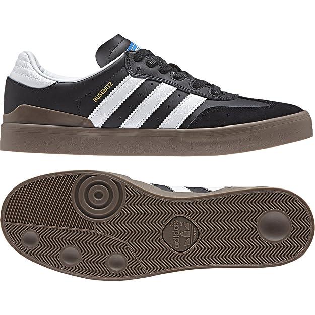 adidas Busenitz Vulc RX, Chaussures de Skate Homme - Noir - Noir (Negbas/Ftwbla/Gum5), 46 EU