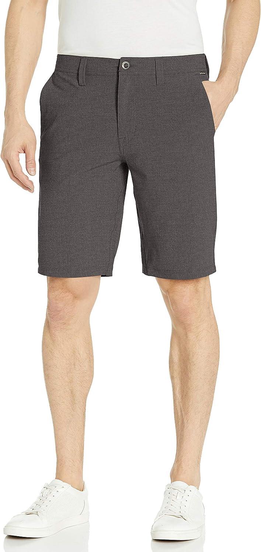 """Volcom Men's Frickin SNT Static 21"""" Modern Hybrid Short: Clothing"""